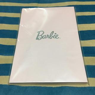 バービー(Barbie)のBarbie メモ帳 2柄入り(ノート/メモ帳/ふせん)