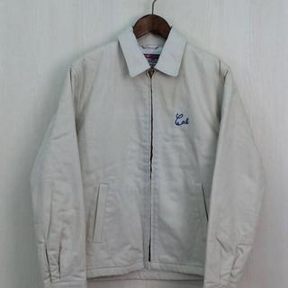 キャリー(CALEE)のCALEE ジャケット 中綿 キルティング ホワイト Mサイズ(ブルゾン)
