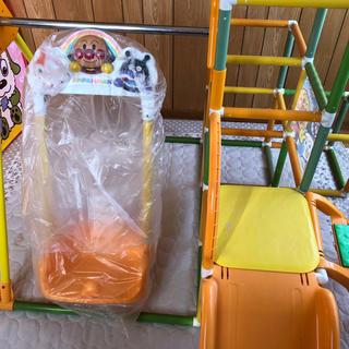 バンダイ(BANDAI)のアンパンマン うちの子天才 ブランコパークDX ジャングルジム すべり台(ベビージム)