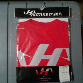 ハタケヤマ(HATAKEYAMA)のハタケヤマ Tシャツ Oサイズ 新品未使用 レッド(ウェア)