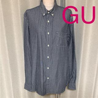 GU - guジーユーメンズシャツ