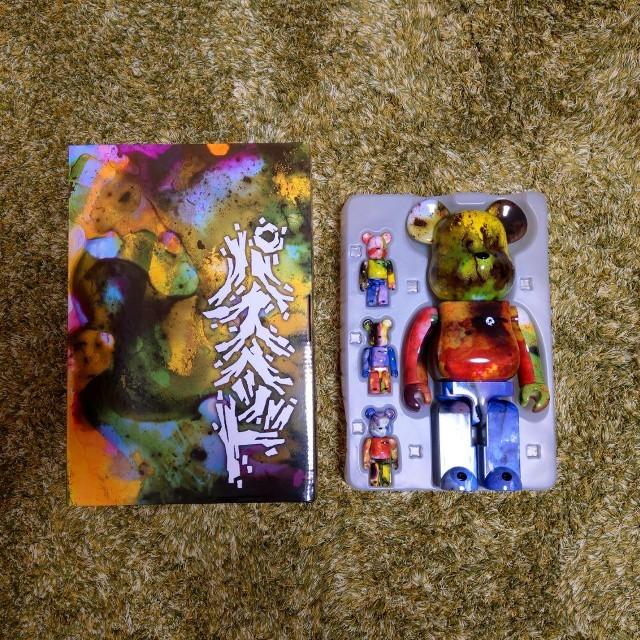 MEDICOM TOY(メディコムトイ)のBE@RBRICK PUSHEAD 3 400%のみ ベアブリック エンタメ/ホビーのおもちゃ/ぬいぐるみ(キャラクターグッズ)の商品写真