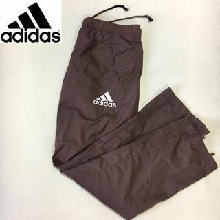アディダス(adidas)のアディダス◆ナイロンパンツ◆ ブラウン Mサイズ レディース(ウェア)