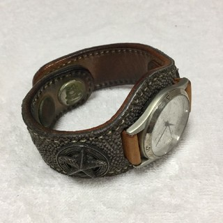ケイシイズ(KC,s)のKC.s ケーシーズ 腕時計 レザー コンチョ(腕時計(アナログ))