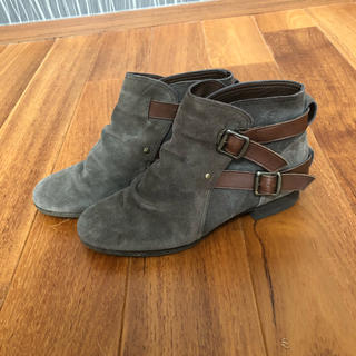 バークレー(BARCLAY)のスエード ショートブーツ 24cm(ブーツ)