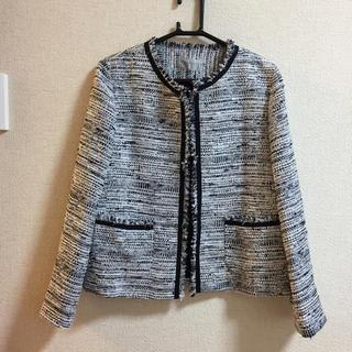 アルティザン(ARTISAN)の新品ARTISANミックスツィードジャケット(ノーカラージャケット)