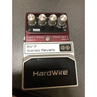 DigiTech RV-7 Stereo Reverb  HardWire(エフェクター)