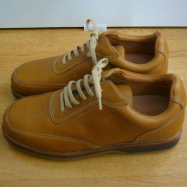 YANKO(ヤンコ)のスペインの老舗ブランド YANKO(ヤンコ)のレザースニーカー  23.5cm メンズの靴/シューズ(スニーカー)の商品写真