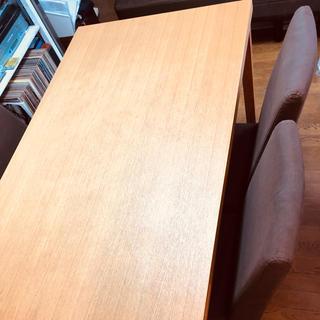 アクタス(ACTUS)の直接引き取り¥45000!ACTUS ダイニングセット テーブル&チェア4脚(ダイニングテーブル)