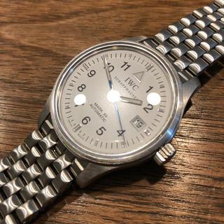 インターナショナルウォッチカンパニー(IWC)の専用 IWC MARK XV マーク15 白文字盤 青針(腕時計(アナログ))