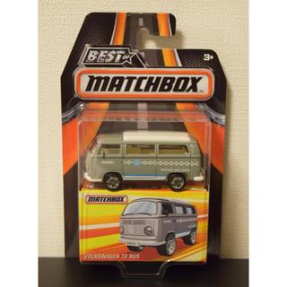 フォルクスワーゲン(Volkswagen)のマッチボックス フォルクスワーゲンT2バス(グレー)(ミニカー)