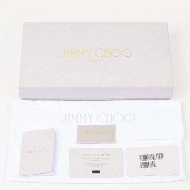 JIMMY CHOO(ジミーチュウ)の8 JIMMY CHOO レザー BLACK ラウンドファスナー 長財布 レディースのファッション小物(財布)の商品写真