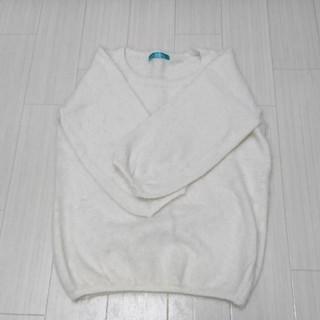 アンティックラグ(antic rag)の【 美品 】アンゴラ七分袖ニット(ニット/セーター)