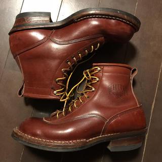 ウエスコ(Wesco)のホワイツ スモークジャンパー wesco redwing calee セミドレス(ブーツ)