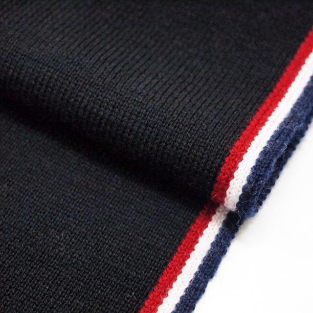 MONCLER(モンクレール)の55 MONCLER SCIARPA ブラック マフラー レディースのファッション小物(マフラー/ショール)の商品写真