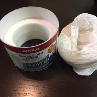 アップリカ(Aprica)のにおわなくてポイ カセット2+1個(紙おむつ用ゴミ箱)