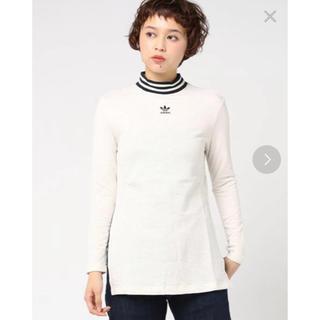 アディダス(adidas)のadidas ♡ アディダス ♡ オリジナルタートルネックロングティシャツ(カットソー(長袖/七分))