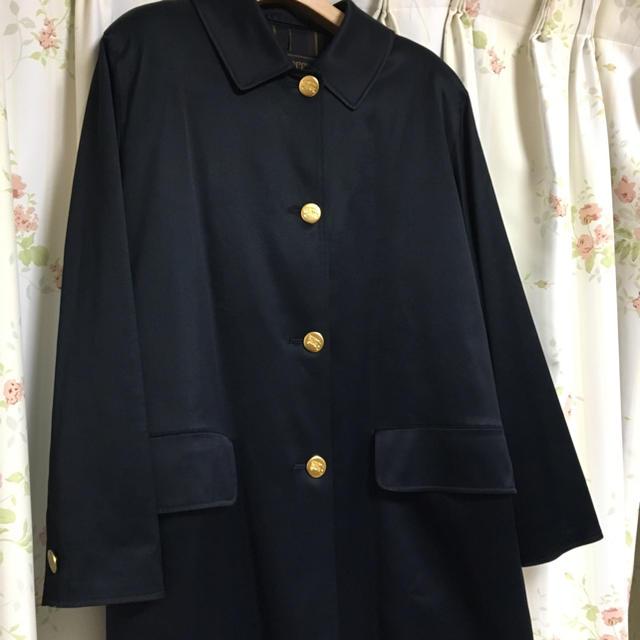 BURBERRY(バーバリー)のバーバリー ネイビー コート レディースのジャケット/アウター(ロングコート)の商品写真