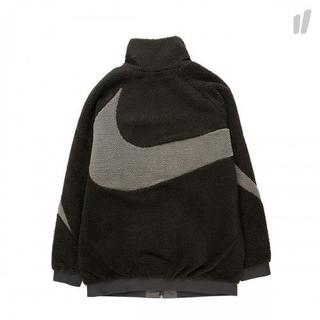 希少Sサイズ Black Nike Swoosh Full Zip Jacket