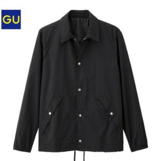 ジーユー(GU)のGU コーチジャケット 黒(その他)