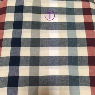MUJI (無印良品) - ベットカバー3点セット 無印良品 ボックスシーツ 手芸にも 布地