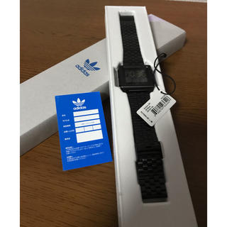 アディダス(adidas)の【値下げ中】アディダス 腕時計 金属製(腕時計(デジタル))