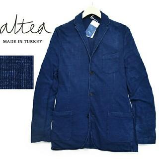 アルテア(ALTEA)のアルテア【Altea】インディゴ染め 3B ジャージージャケット(テーラードジャケット)