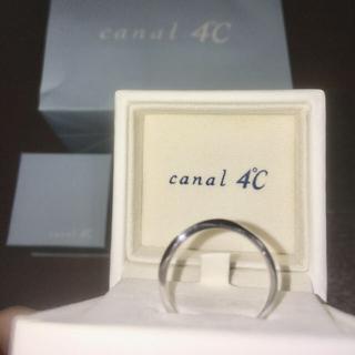 カナルヨンドシー(canal4℃)のcanal4°Cリング(リング(指輪))