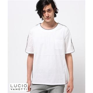 タトラス(TATRAS)の【セール‼️】LUCIO VANOTTI パイピングプルオーバーシャツ(Tシャツ/カットソー(半袖/袖なし))