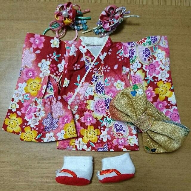 メルちゃんの着物 キッズ/ベビー/マタニティのおもちゃ(ぬいぐるみ/人形)の商品写真