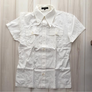 ゴーサンゴーイチプールオム(5351 POUR LES HOMMES)の5351 シャツ ホワイト 2 白(シャツ)