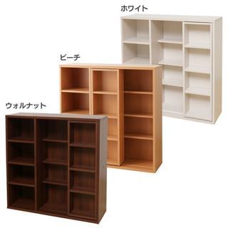 本棚 スライド 大容量 コミックラック  書棚 ブックラック 本収納(本収納)
