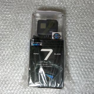 ゴープロ(GoPro)のGoPro Hero7 Black [新品] 販売店納品書同封(その他)