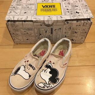 ヴァンズ(VANS)のvans ヴァンズ スヌーピー 17cm コラボ 限定 シューズ 靴 スニーカー(スニーカー)