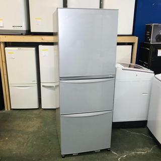 トウシバ(東芝)の⭐️TOSHIBA⭐️冷凍冷蔵庫 2013年340L自動製氷 大阪市近郊配達無料(冷蔵庫)
