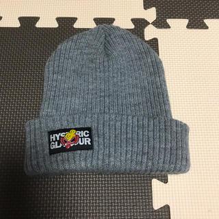 ヒステリックミニ(HYSTERIC MINI)の★ HYSTERIC MINI -ニット帽- グレー(帽子)