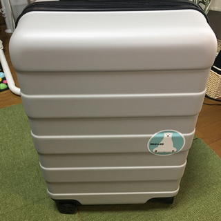 ムジルシリョウヒン(MUJI (無印良品))の無印 キャリーバッグ 35L ライトグレー(トラベルバッグ/スーツケース)