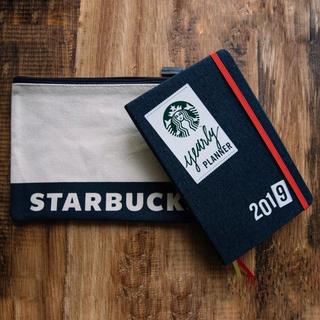 スターバックスコーヒー(Starbucks Coffee)のsonson1015様用スタバ&モレスキン☆2019手帳(タイ)&ポーチ(カレンダー/スケジュール)