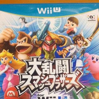 ウィーユー(Wii U)の大乱闘スマッシュブラザーズ for wiiu(家庭用ゲームソフト)