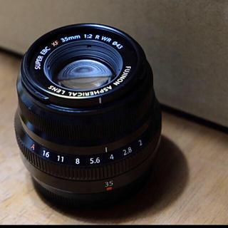 フジフイルム(富士フイルム)のfujifilm 35mm f2 (レンズ(単焦点))
