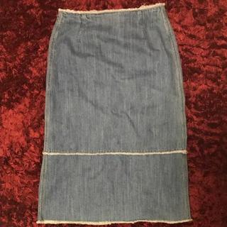 ルシェルブルー(LE CIEL BLEU)のLE CIEL BLEU のスカート(ひざ丈スカート)