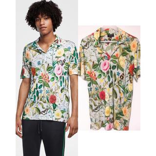 ザラ(ZARA)の売切り‼️ZARA MAN 2018 プリントポロシャツ M(ポロシャツ)