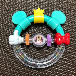 ディズニー(Disney)の専用 美品 ディズニー おしゃぶりラトル 定価1000円 ガラガラ 歯固め(がらがら/ラトル)