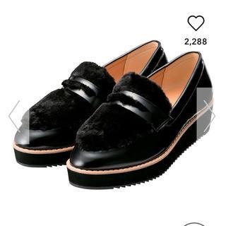 ジーユー(GU)のgu プラットフォームローファー(ローファー/革靴)