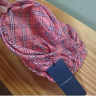 バーバリー(BURBERRY)の新品 BURBERRY 三角巾のような ヘアバンド(その他)