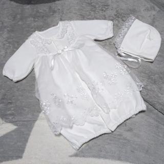 【ちい♪さま専用】43★ 50~60cm 帽子 セレモニードレス ベビードレス(セレモニードレス/スーツ)