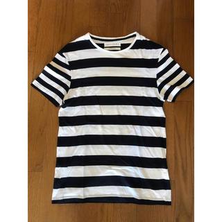 ザラ(ZARA)の新品 zara ボーダー Tシャツ(Tシャツ/カットソー(半袖/袖なし))