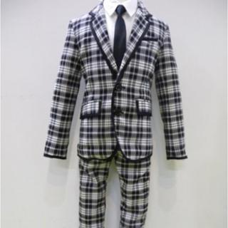 ジェネレーター(GENERATOR)のジェネレーター  チェックスーツ  130(ドレス/フォーマル)