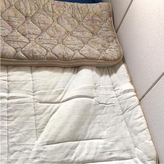 丸八真綿  羊毛敷き布団(布団)