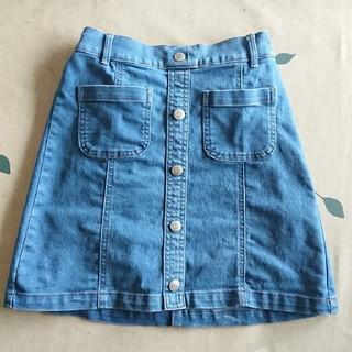 ジーユー(GU)のGU 女の子スカート  130cm(スカート)